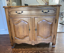 Ethan Allen Country French Server Sideboard Buffet Birch #26-6315 #236 Fruitwood