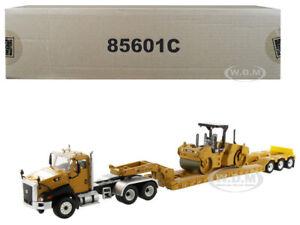 Broken CAT CATERPILLAR CT660 HDG CB-534D COMPACTOR 1/50 DIECAST MASTERS 85601 C