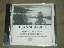 Sibelius Symphony 6 Pelleas & Melisande sealed Neeme Jarvi