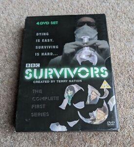 SURVIVORS Series 1 Complete Terry Nation Region 2 UK DVD BOX SET