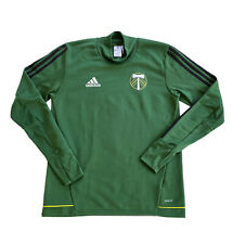 Portland Timbers Adidas Climacool Long Sleeve Active Pullover Shirt Men's Medium