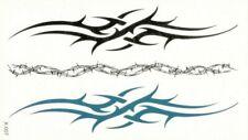 Flash Einmal Temporary Klebe Tattoo Arschgeweih Schwarz Blau Geschenk Strand Neu