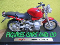 MOTO 1/18 BMW  R 1100 R  ROUGE MAISTO