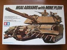 Tamiya 35158  M1A1 ABRAMS with MINE PLOW 1:35 Kombiversand möglich