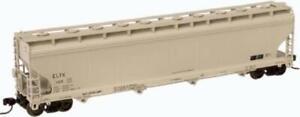 Atlas Soltex Polymer ELTX ACF 5701 Plastics Covered Hopper 50-000-021 N Scale