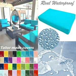 TAILOR MADE COVER*Patio Bench Cushion Waterproof Outdoor Swing Sofa Daybed Dw08