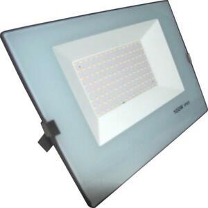 Projecteur LED Extérieur 100W IP65 - BLEU GRIS - Blanc Neutre 4000K - 5500K - SI