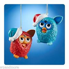 Furby Blue and Red Figural Blow Mold Ornament-NIB