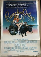 """Vintage Large Jimmy Buffett Poster - Rancho Deluxe - 28"""" x 41"""""""