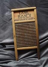 VINTAGE 1920'S COLUMBUS DUBL HANDI WASH BOARD