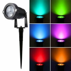 2x Top Quality Energy Saving Ip65 Outdoor Waterproof 3w Led Garden Lawn Lamps