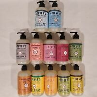 BRAND NEW ~ Meyer's Clean Day Hand Soap ~ 12.5oz with Pump ~ PICK YOUR SCENT