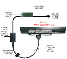 External Laptop Battery Charger for ASUS K43 K53 X43 X53 X54, A32-K53, A41-K53