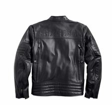 Harley-Davidson Men's M Beginnings Leather Riding Jacket, Triple Vent $450
