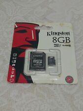 Kingston Technology 8GB Micro SDHC Class 4 Memory Card Adapter