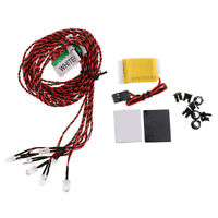Set of Flash RC 8 LED Lighting Kit for RC Helicopter Airplane Aircraft Plane