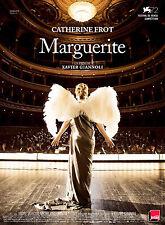 Affiche 120x160cm MARGUERITE 2015 Catherine Frot, André Marcon, Michel Fau TBE