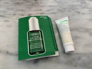 Kiehl's 4ml Sample Sativa Seed Oil + Goldfaden MD Wake. Up Call Solution 4 Ml