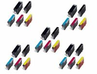 NON-OEM 25 PK INK PGI-220 CLI-221 PIXMA MP990 MX860 MX870 IP4600 IP4700 IP3600