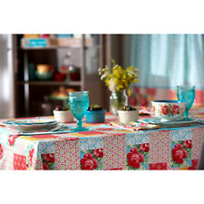 The Pioneer Woman Patchwork Vintage Floral Fabric Tablecloth 60 x 84 ~ NEW