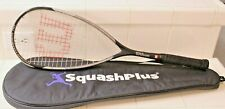 Wilson Hyper Hammer 110 Squash Racket and Case Very Good Condition