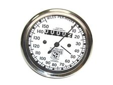 DR@BID Matchless Smiths Replica Speedometer 0-150 Mph White Face