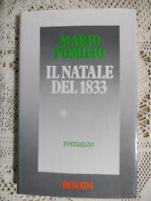 MARIO POMILIO -IL NATALE DEL 1833 - RUSCONI 1983