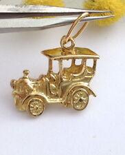 AUTO D'EPOCA CIONDOLO IN ORO GIALLO 18KT - VINTAGE CAR 18KT SOLID GOLD PENDANT