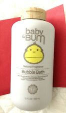 Baby Bum Natural Fragrance Bubble Bath Tear Free Hypo Allergenic & ultra gentle