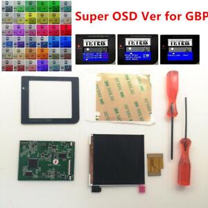 Super OSD Version RIPS LCD High Brightness iPS Backlight Kit For GameBoy GBP