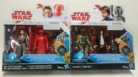 Star Wars Force Link Figure Rey Jedi Training Han Solo Boba Fett Elite Guard Lot