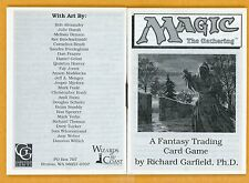 Vintage Magic | MTG 1993 Alpha Starter Deck Rule Book | No Lotus or Mox, RARE!!!