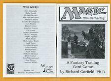 Vintage Magic | MTG 1993 Alpha Starter Deck Rule Book | No Lotus or Mox, RARE!!!
