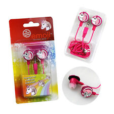 Kids Unicorn Earphones Emoji Music iPhones Childrens Headphones Earbuds Phones