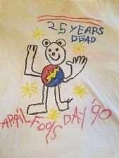 Vintage Grateful Dead t-shirt. Charlotte Apirl fools '90. One time shirt