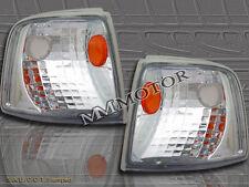 93-97 FORD RANGER CHROME CLEAR SIGNAL CORNER LIGHTS PAIR