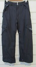 Body Glove Black Insulated Snow Ski Board Pants Youth 14