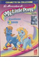 1 BOX SET DVD 3 DISCHI VINTAGE CARTOON,MYLITTLE PONY MY LITTLE mio mini,cavalli