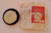 KL-1 VINTAGE USSR RUSSIAN POCKET CALCULATOR SLIDE RULE Black 1968