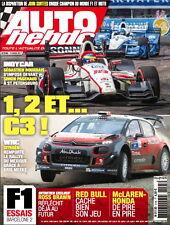 AUTO HEBDO n°2105 NEUF du 15/03/2017 : WRC Mexique - Indy St-Petersburg -Surtees