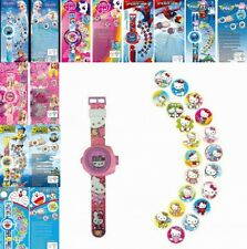 Kids Watch Cartoon Digital Wristwatches Automatic Projector Children Toys Gift
