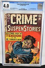 Crime Suspenstories #16 1953 CGC Graded 4.0 Johnny Craig Cover, Art  EC Comics
