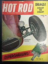 1954 Hot Rod October Back Issue Magazine