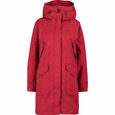 DIDRIKSONS Women's AGNES Jacket / Parka, Red, RRP £220 - UK 12