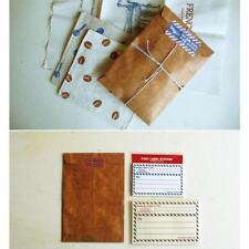 50Pcs Brown Craft Paper Envelope Retro Envelopes Invitation Letter Craft Envelop