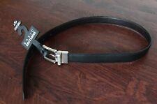 Basic Editions black/brown reversible boy's belt, size M 24/26