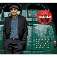 JAMES TAYLOR Before This World LIMITED CD 3 Bonus Tracks + DVD Target Exclusive