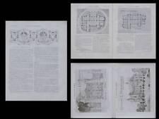 LA CONSTRUCTION MODERNE - n°18 - 1910 - SARREGUEMINES, CHATEAU UTZSCHNEIDER