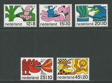 Netherlands 1968 Fairy Tales semipostals--Attractive Art Topical (B439-43) MNH