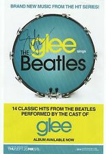 Jane Lynch Autograph Hand Signed Glee Poster The Beatles Hits Angel From Hell